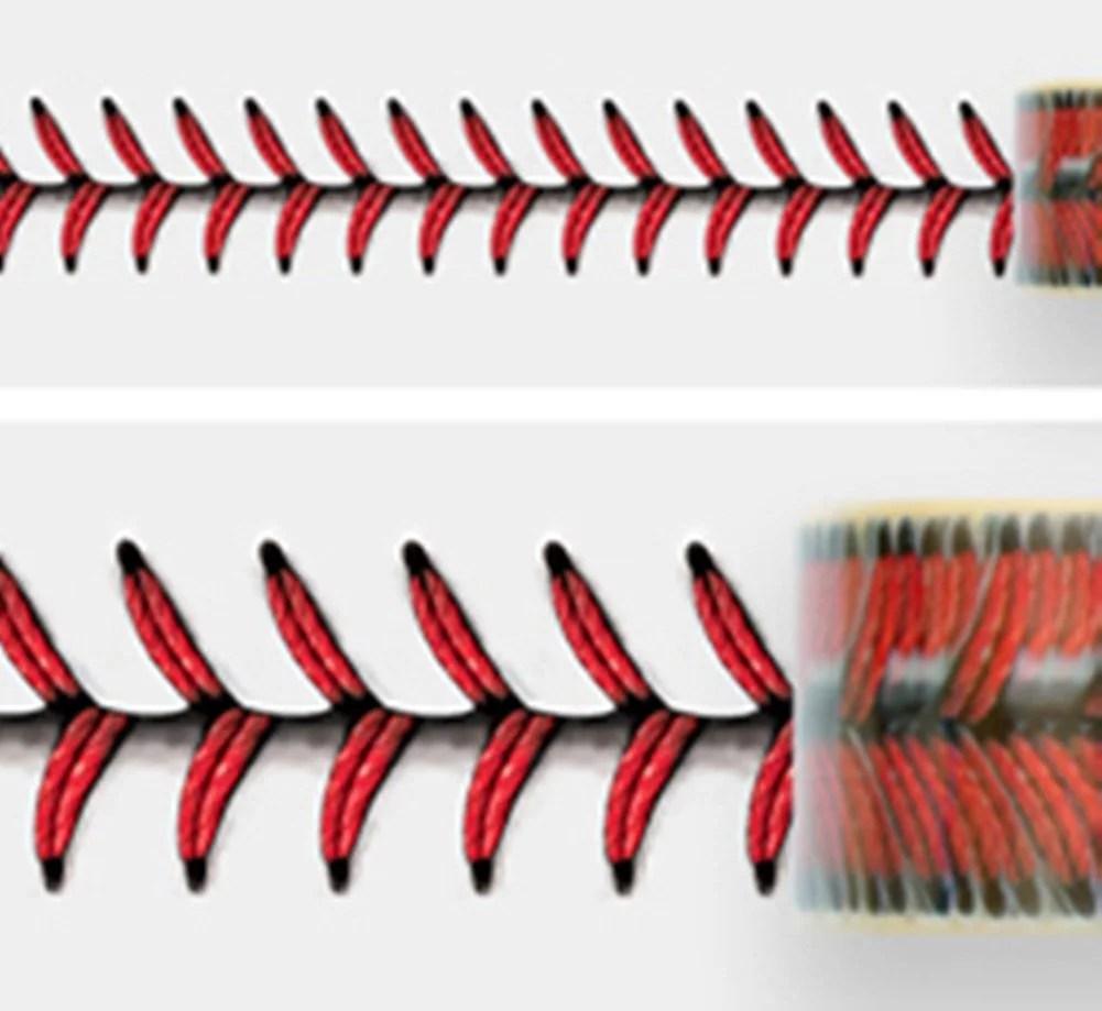 adstape baseball stitches design