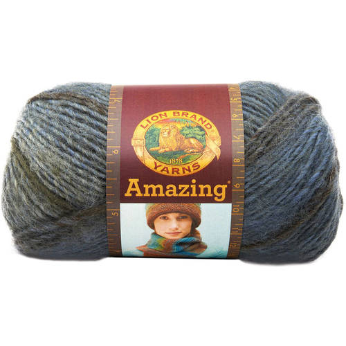 Lion Brand Amazing Yarn, Available In Multiple Colors