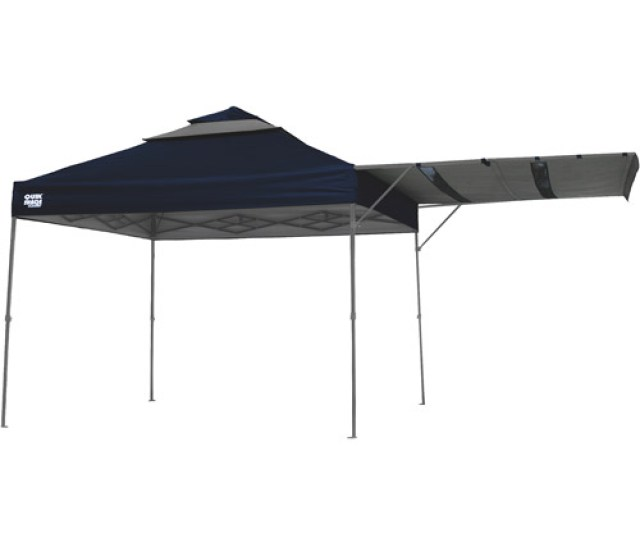 Quikshade Summit X Straight Leg Canopy With Awningblue