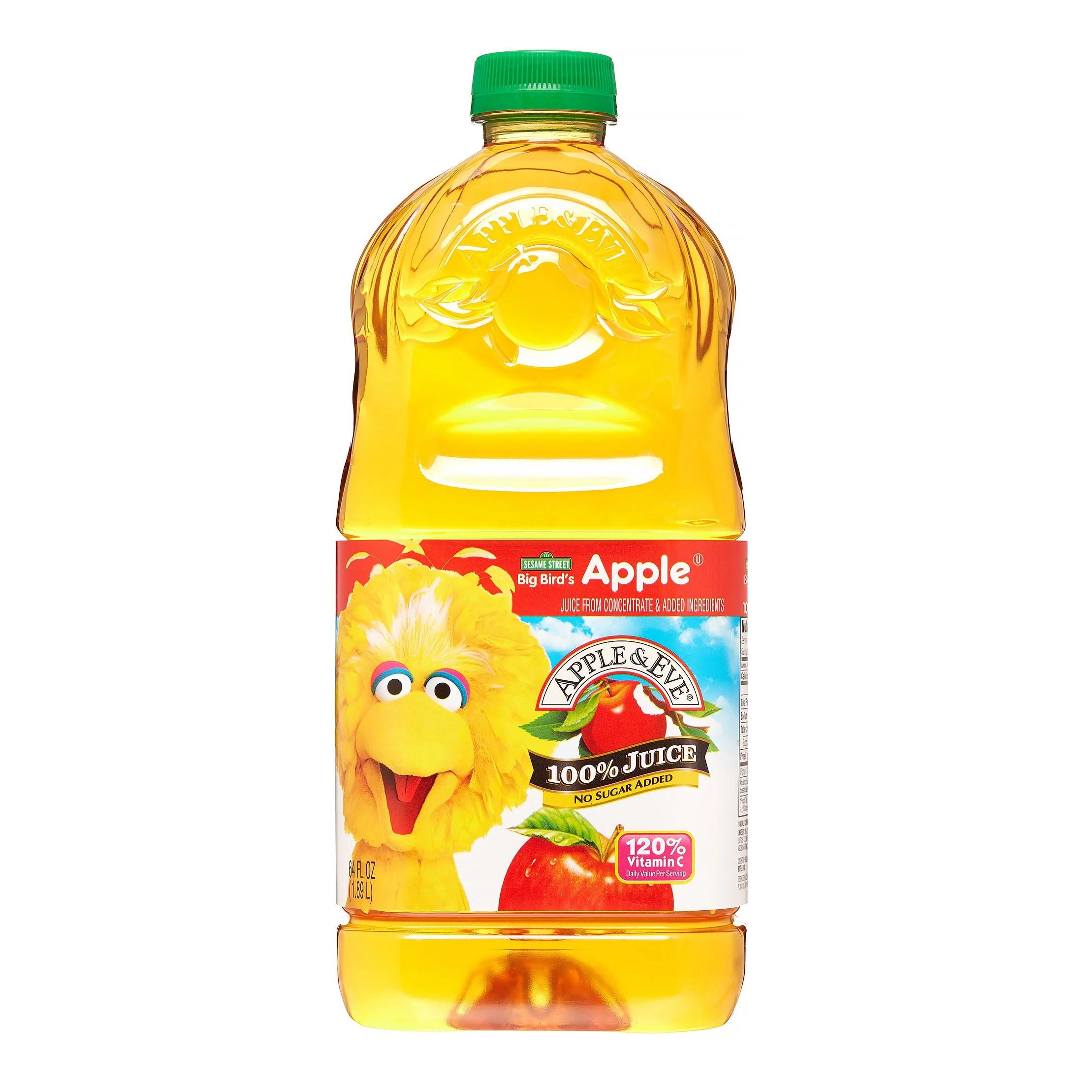 Apple Eve 100 Juice Sesame Street Big Bird Apple 64