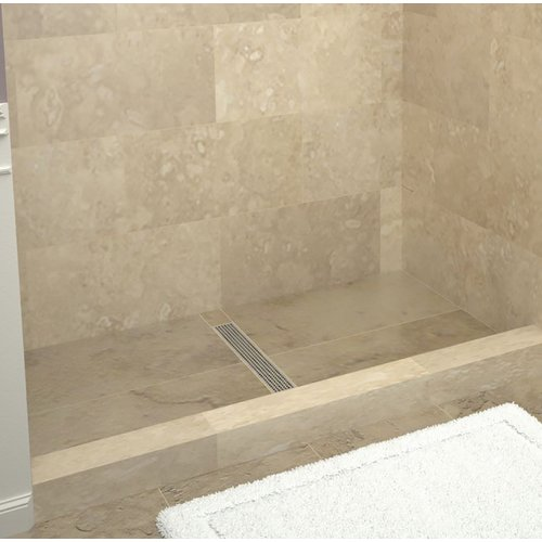 tile redi rt4260c pvc redi trench 42 x 60 rectangular shower base