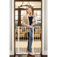 """Regalo Extra Tall Baby Gate, 30""""-40"""" with Walk Through ..."""