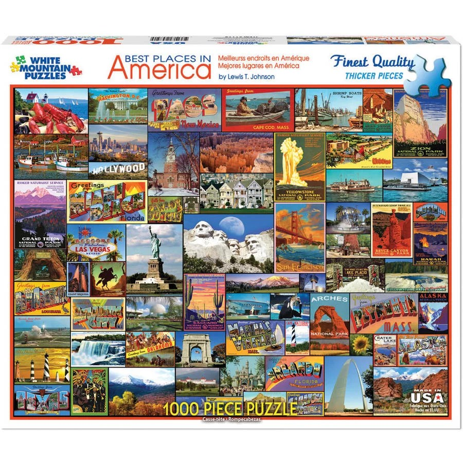 white mountain puzzles best