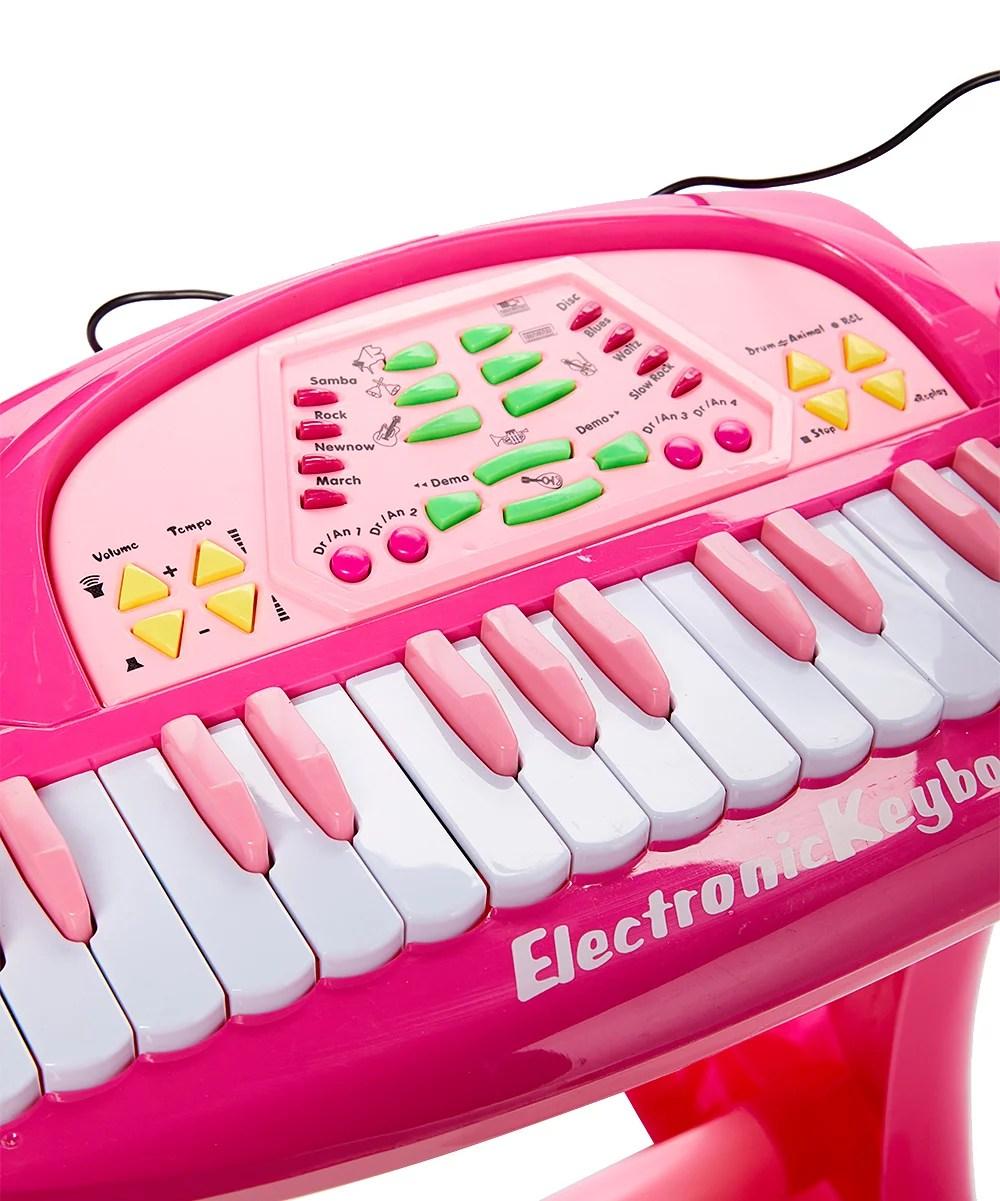 36 Key Keyboard : keyboard, 36-Key, Piano, W/Microphone, Chair, Records, Plays, Walmart.com
