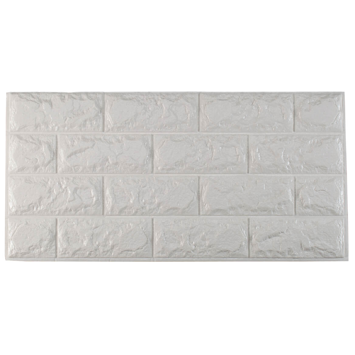 Faux Brick Wall Tile Decals Set of 6  Walmartcom
