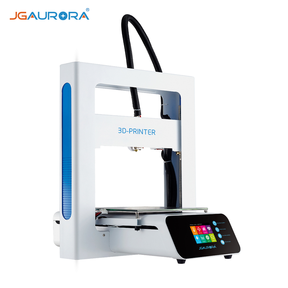 Jgaurora A3s 3d Printer Kit Diy Full Metal Frame 2 8 Inch Colorful Touch Screen Easy To Assemble Filament Runs Out Detection Resume Printing Function Building Volume 20 5 20 5 20 5cm With 16gb Usb Walmart Canada
