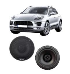 fits porsche macan 958 2015 2017 rear door replacement harmony ha r65 speakers walmart com [ 1000 x 1000 Pixel ]