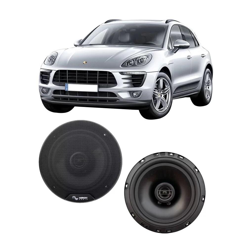 hight resolution of fits porsche macan 958 2015 2017 rear door replacement harmony ha r65 speakers walmart com