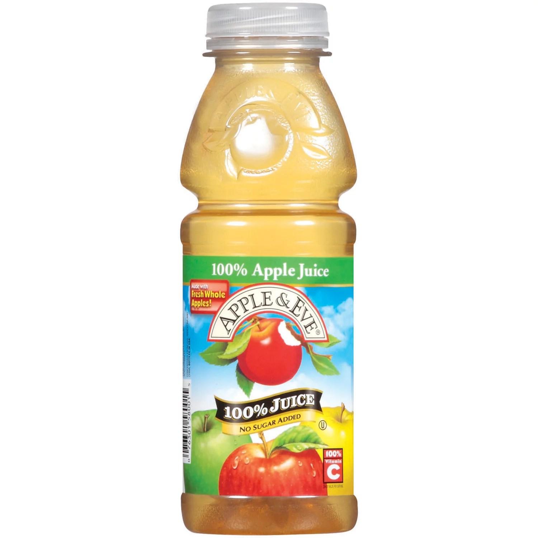 Apple Eve 100 Apple Juice 16 fl oz Bottle Walmartcom