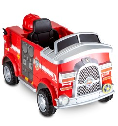 paw patrol fire truck 6 volt powered ride on toy by kid trax marshall rescue walmart com [ 3772 x 3338 Pixel ]