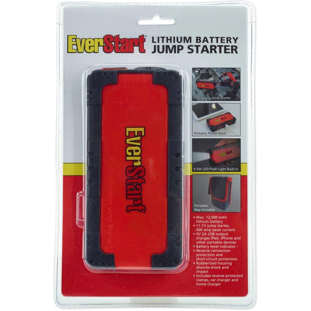 medium resolution of everstart multi function jump starter amp battery charger walmart com