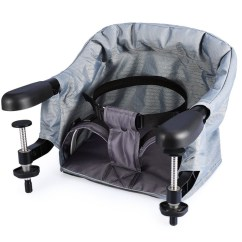 Portable Baby High Chair Hook On Covers Argos Perch Table Clip Highchair Steel Construction Load Bearing Safety