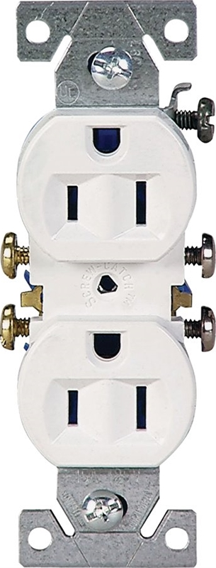 hight resolution of cooper 270w grounded straight blade duplex receptacle 125 v 15 a 2 pole walmart canada