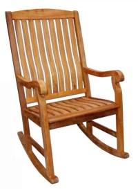 Rocking Chair in Teak Finish - Walmart.com