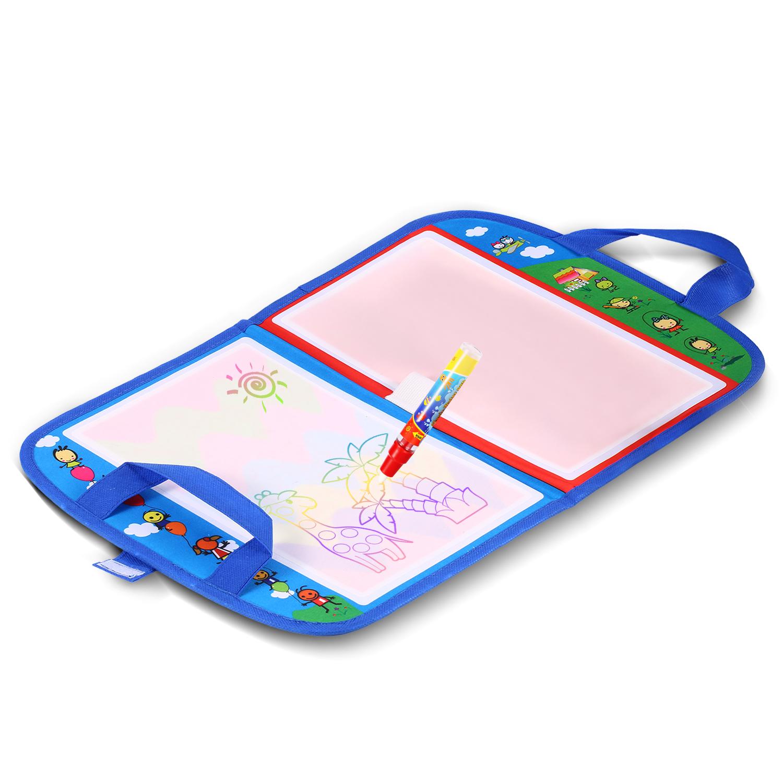walfront dessin stylo a eau peinture tapis de griffonnage magique conseil kid kid fille fille jouet dessin stylo a eau peinture tapis de griffonnage