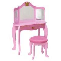 KidKraft - Princess Vanity and Stool - Walmart.com