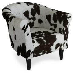 Cowhide Print Accent Chair Folding Bungee Porch Den Fountain Square Woodlawn Walmart Com