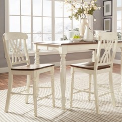 2 Accent Chairs And Table Set Cheap Spandex Chair Covers For Sale Mackenzie White Counter Height Of Dining Room Ch Walmart Com