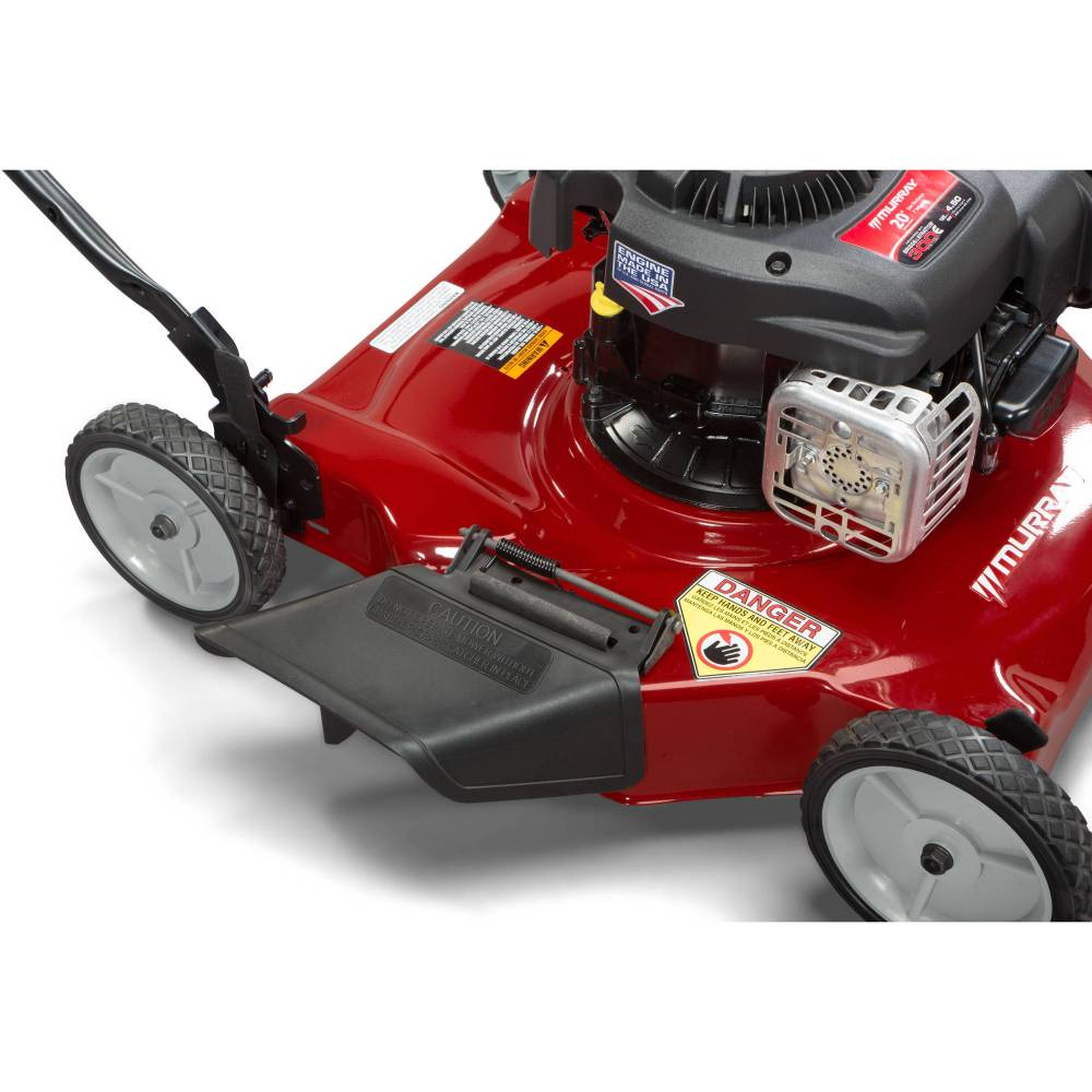 medium resolution of murray 20 125cc gas powered side discharged push lawn mower walmart com