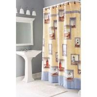 Painterly Lighthouse Shower Curtains - Walmart.com