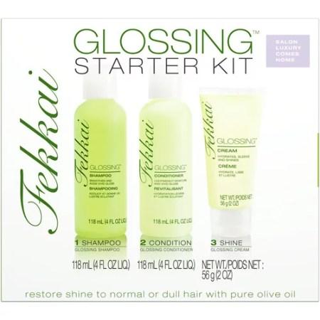 fekkai glossing hair products starter 1 kit walmart
