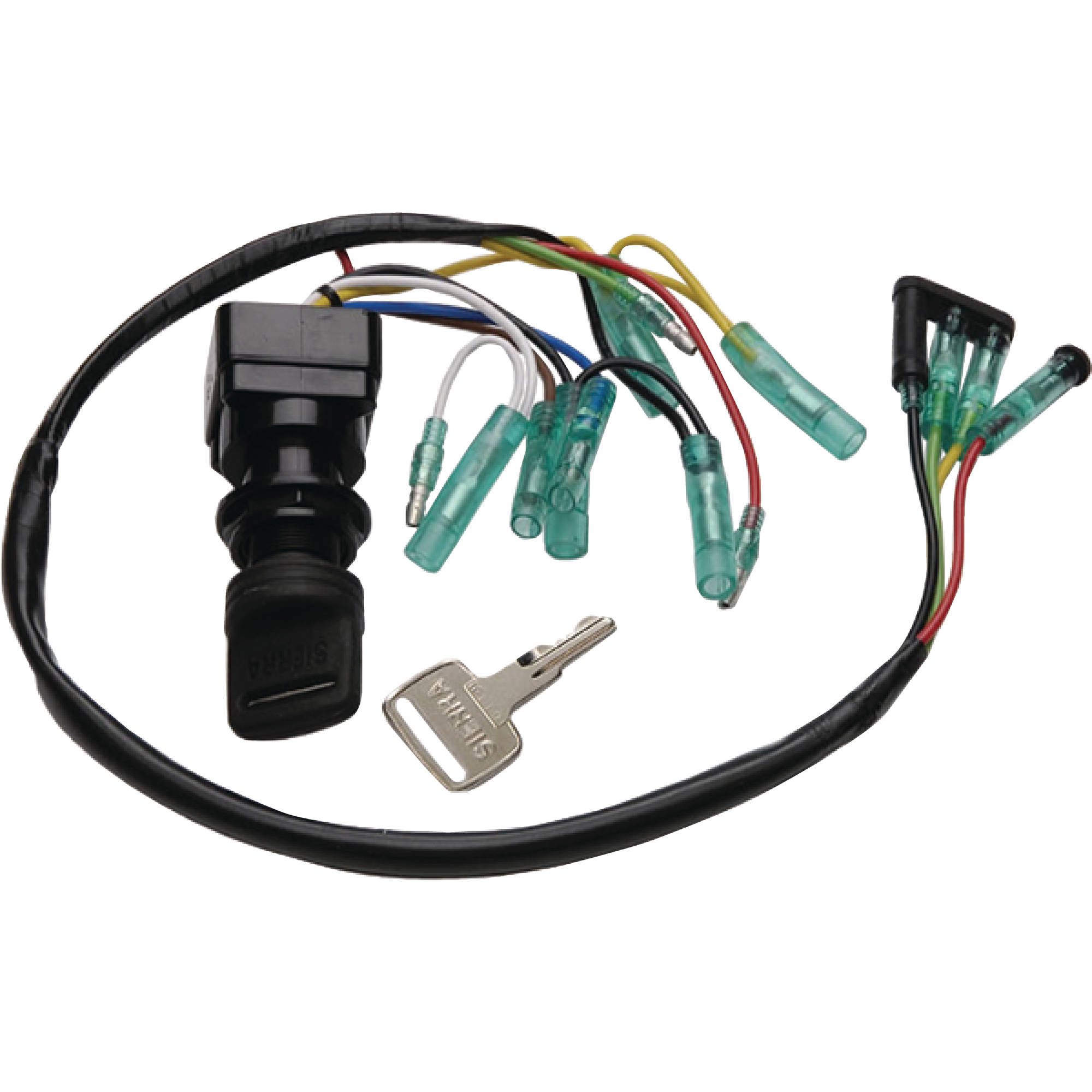 hight resolution of sierra yamaha outboard exact oem replacement ignition switch walmart com