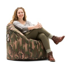 Big Joe Lumin Chair Multiple Colors Ergonomic Lean Forward Bean Bag Available In Walmart Com