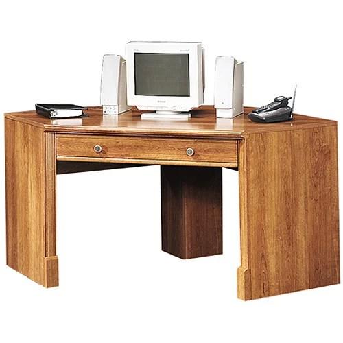 Sauder Corner Computer Desk American Cherry  Walmartcom