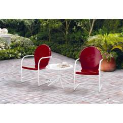 C Spring Patio Chairs Swivel Chair Lazada Mainstays Retro 3 Piece Metal Outdoor Chat Set Red Seats 2 Walmart Com