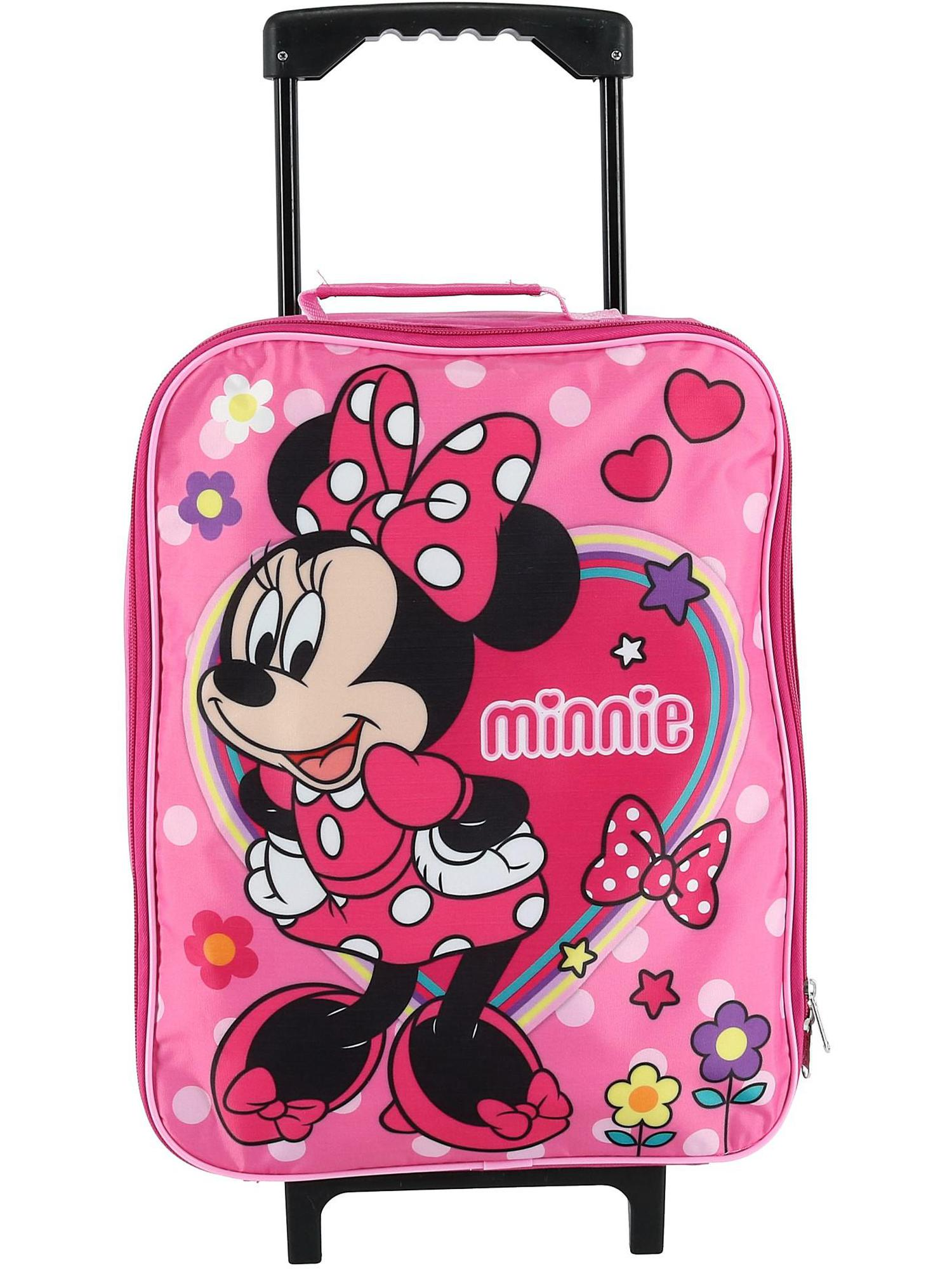 Disney - Disney Kids' Minnie Mouse Rolling Carry-on ...