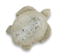 Hanging Cement Turtle Stepping Stone Wall Art - Walmart.com