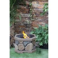 Faux Stone Fire Pit - Walmart.com