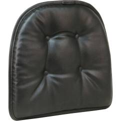 Faux Leather Gripper Chair Cushions Reclining Garden Chairs Homebase Cushion