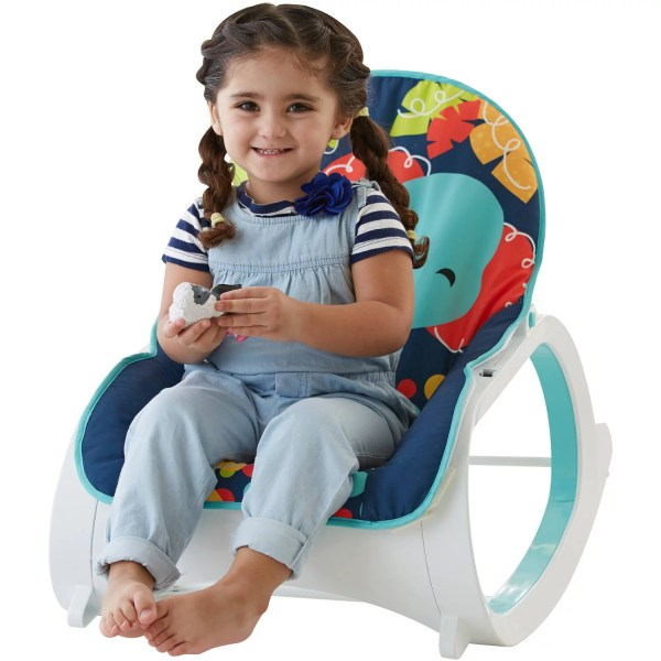 Fisher Infant-toddler Rocker Baby Seat Bouncer Chair Play Toy Sleeper