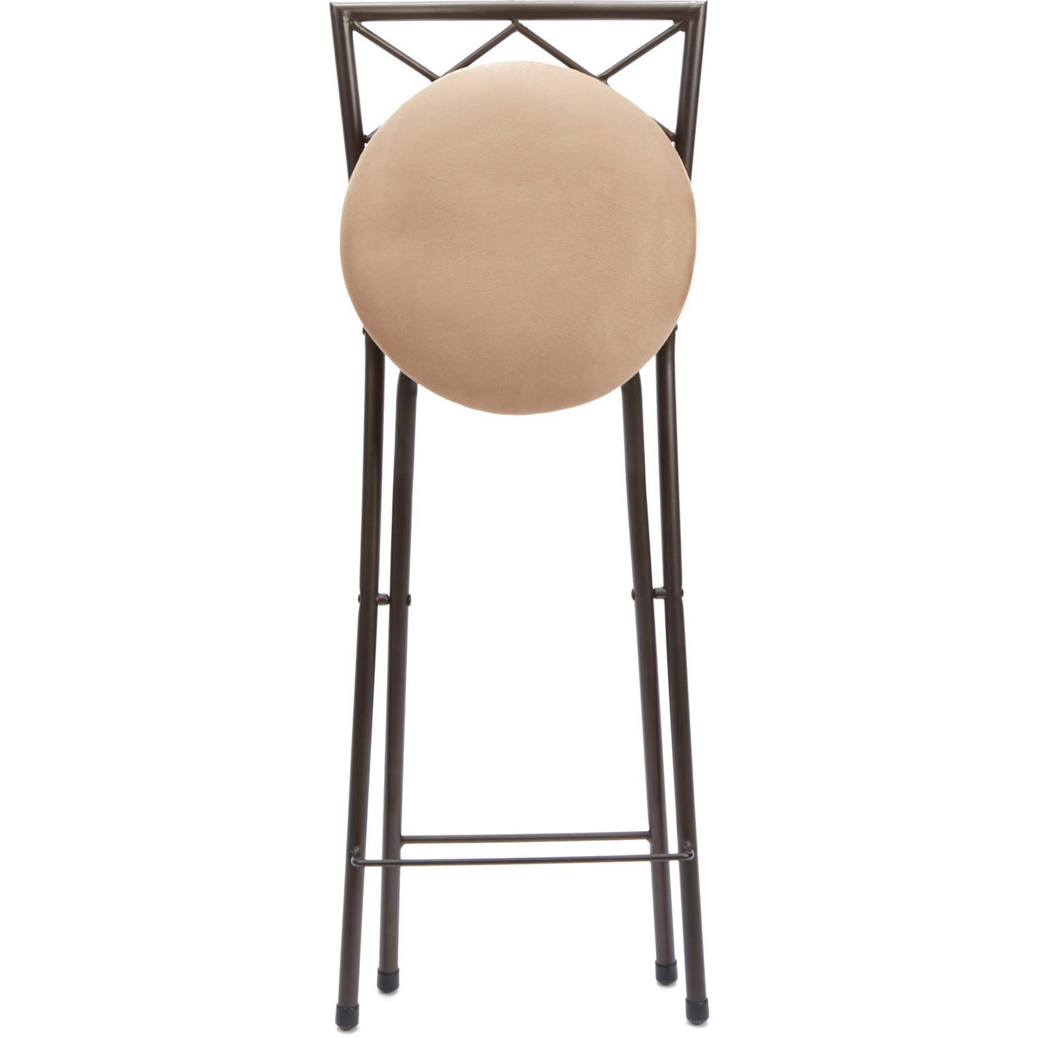 folding bar stool chairs best toddler chair and table set stools back 30 bronze beige microfiber