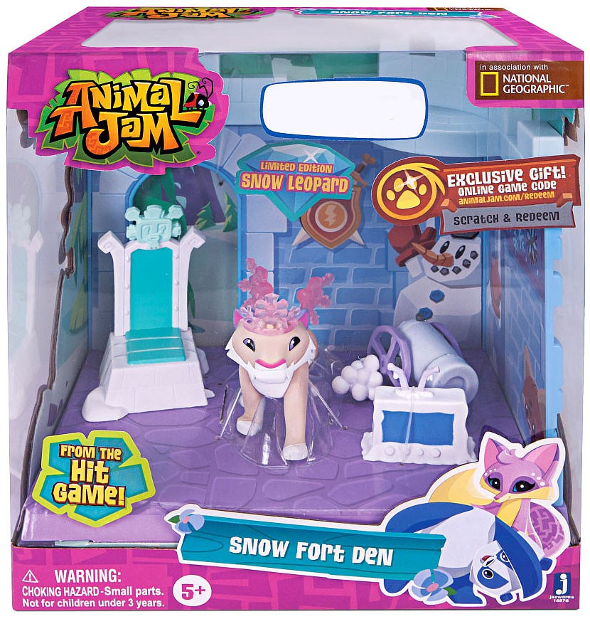Animal Jam Snow Fort Den Playset Walmart