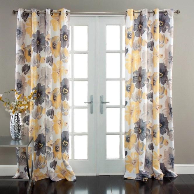 Curtain Lush Decor Lillian White Shower By Carmen Surprising