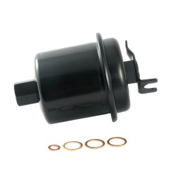 ecogard xf44870 engine fuel filter premium replacement fits honda civic accord cr v odyssey prelude civic del sol acura integra cl rl tl  [ 1000 x 1000 Pixel ]