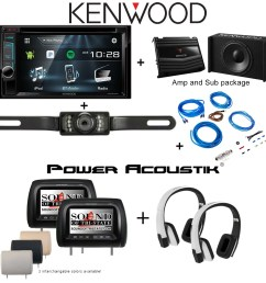 camera power acoustik h 78cc two 7 headrest monitors hir2w two wireless headphones p w100b subwoofer and amplifier stinger ssk8 8ga wiring kit [ 1800 x 1800 Pixel ]