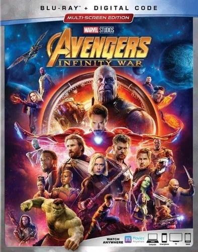 avengers infinity war blu