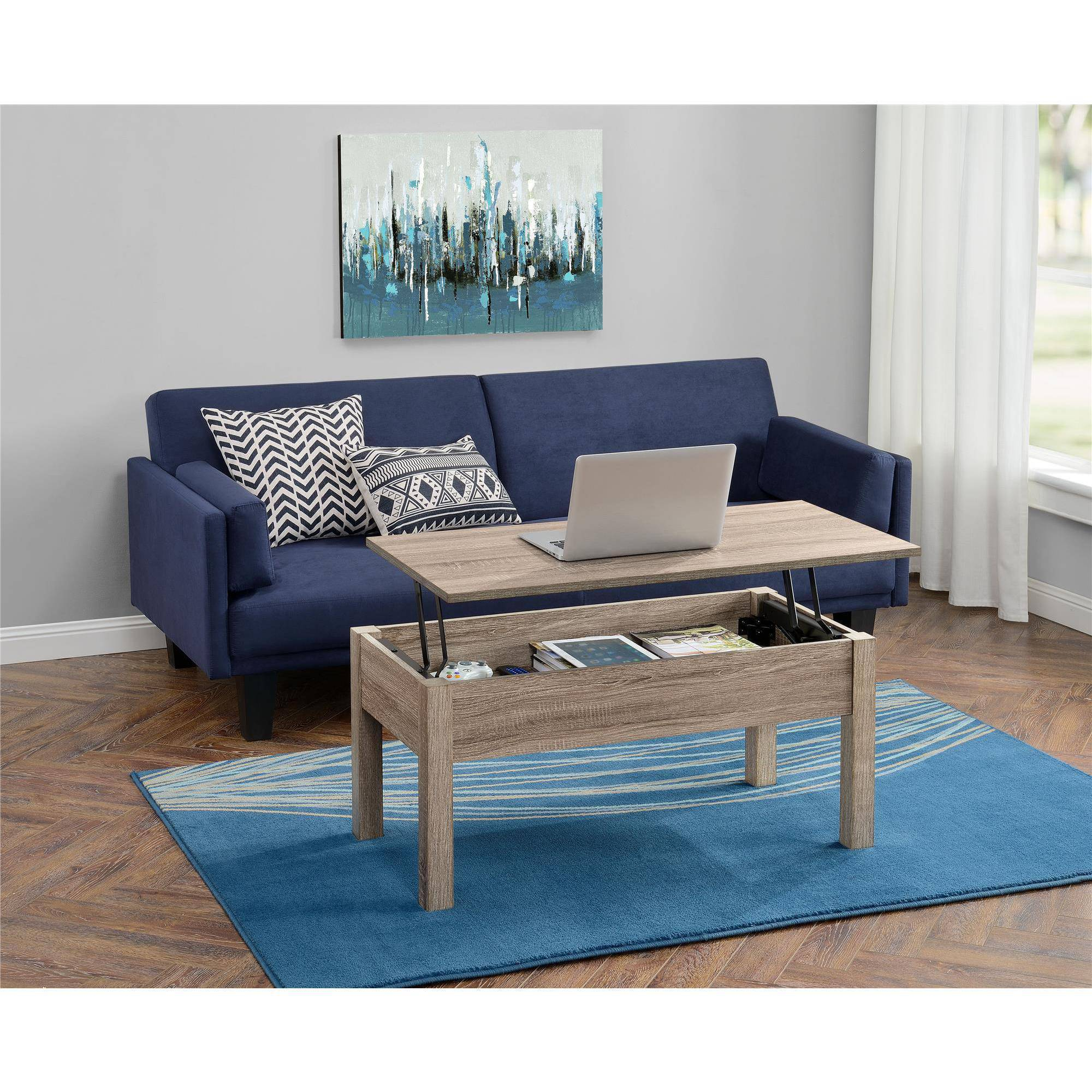 living room table with storage how to arrange furniture around tv mainstays lift top coffee multiple colors walmart com