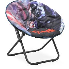 Saucer Chair For Kids Wedding Covers Oxford Disney Star Wars Available In Multiple Prints Walmart Com