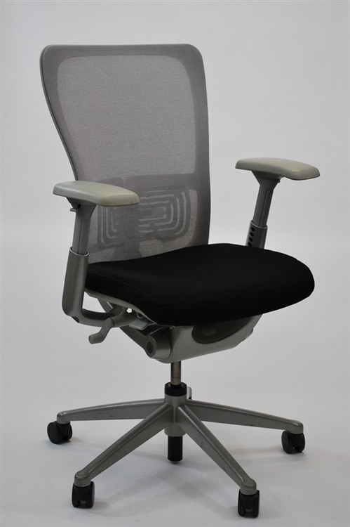haworth zody chair ergonimic office chairs mesh back in gray fully adjustable model executive walmart com