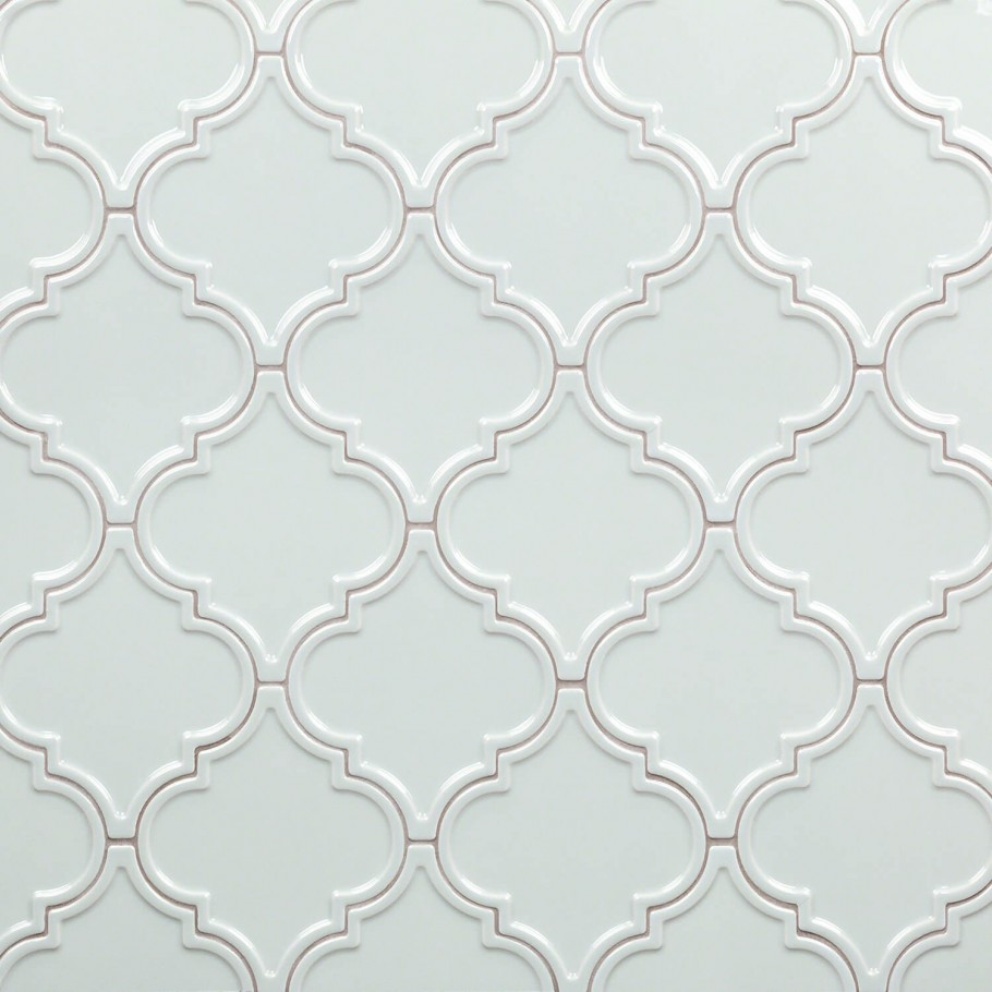 bond tile roma blue 6 25 in x 7 25 in ceramic arabesque wall tile 30 pieces 4 84 sq ft box