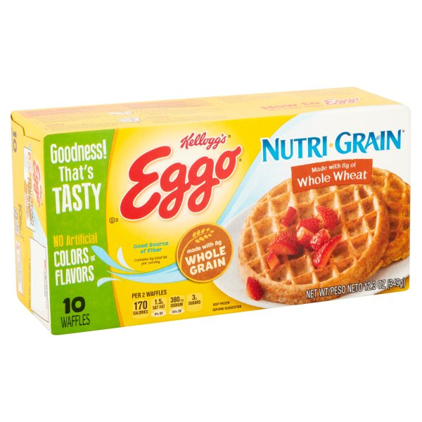 Nutri Grain Waffles Nutrition Facts Nutrition Ftempo