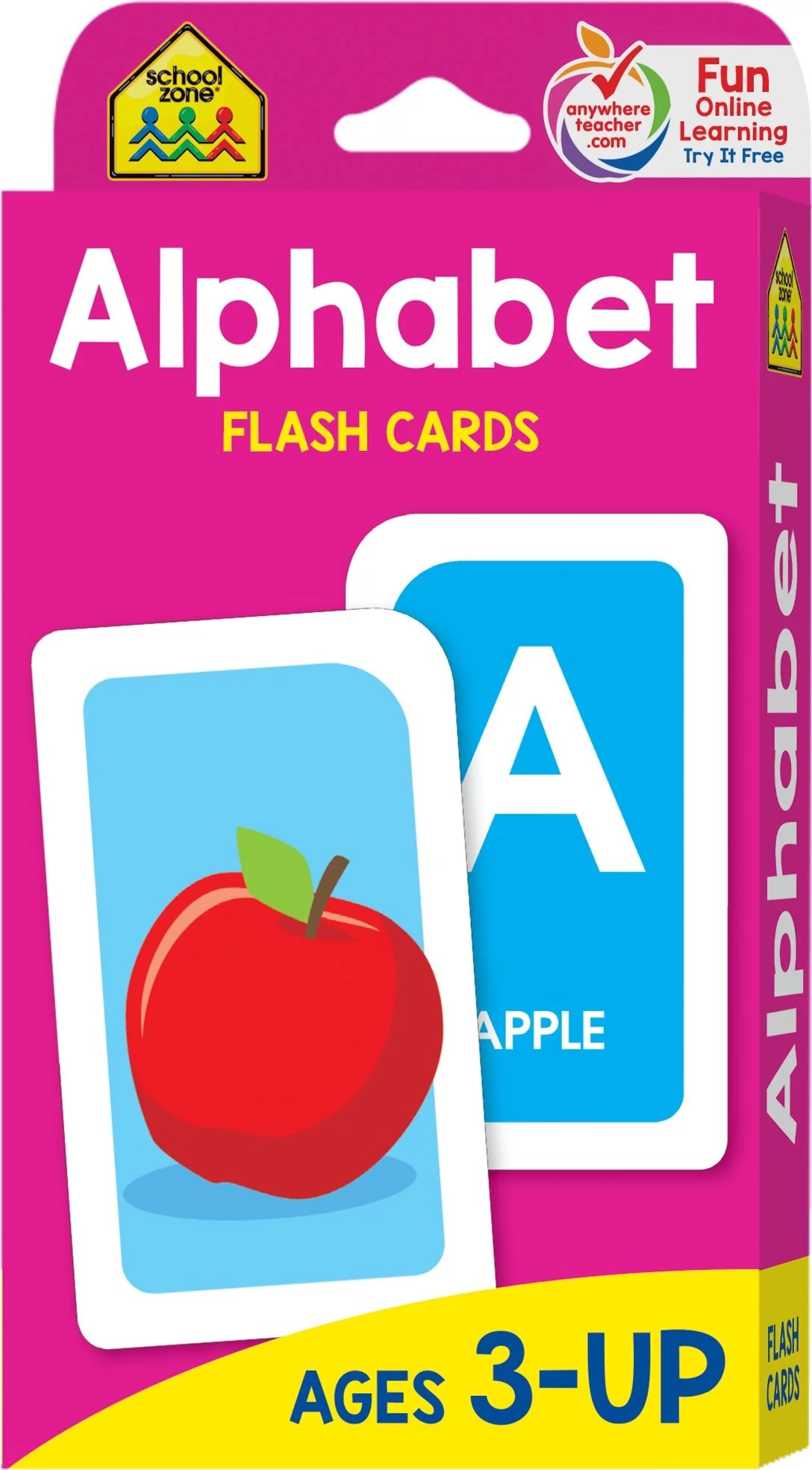 Alphabet Flash Cards Ages 3 And Up