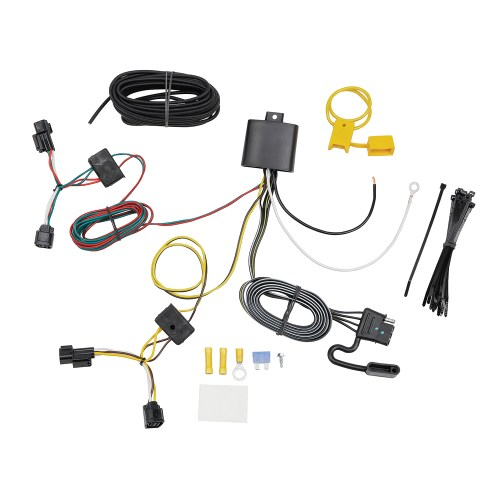 small resolution of tekonsha 118776 trailer wiring connector t one t one connector assembly with upgraded circuit protected modulite hd module