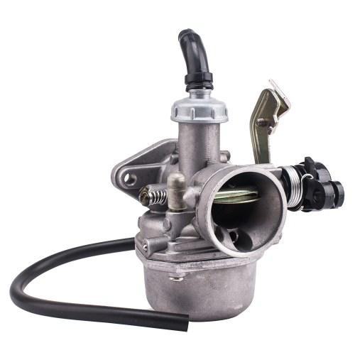 small resolution of 19mm carburetor carb pz19 with fuel filter for chinese 50 70 90 110 cc atv quad 4 wheeler walmart com