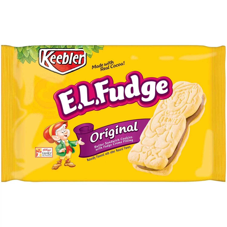 Keebler EL Fudge Original Sandwich Cookies 15 oz Pack