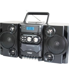 naxa npb428 portable cd mp3 player with am fm radio detachable speakers remote usb input walmart com [ 2000 x 2000 Pixel ]